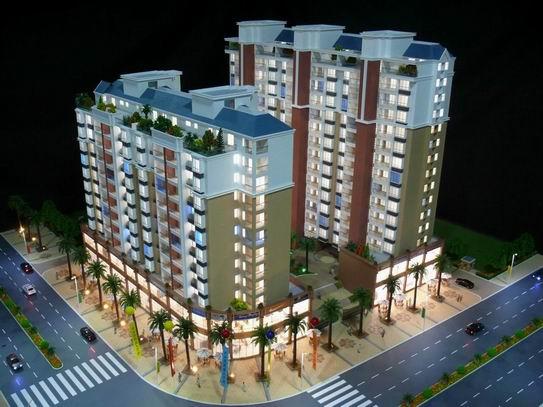 供应广州房地产售楼模型制作公司