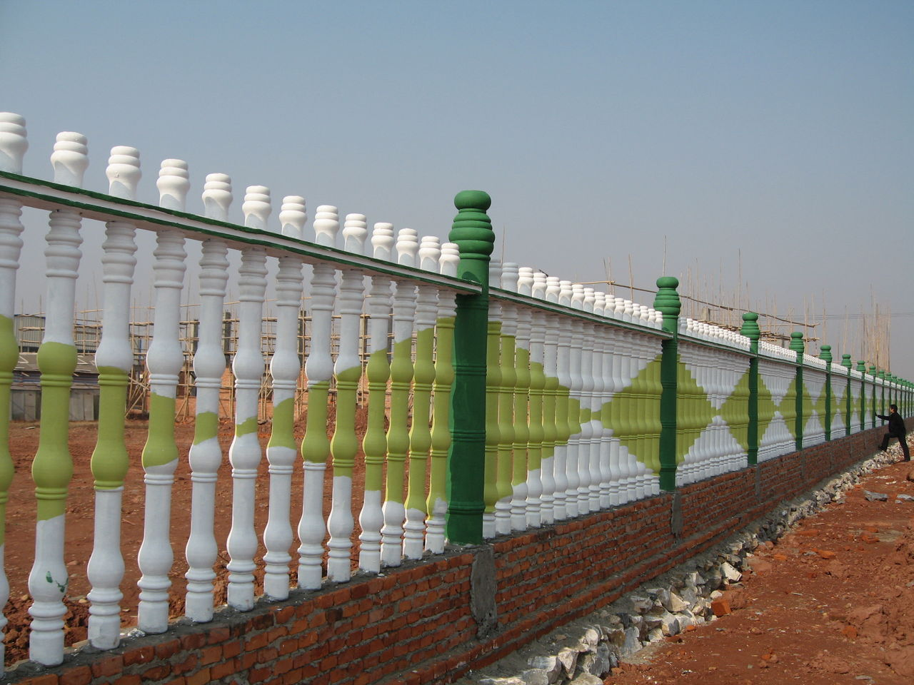 欧式水泥围栏护栏图片