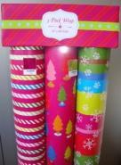 出口的礼品包装纸-圣诞用纸图片