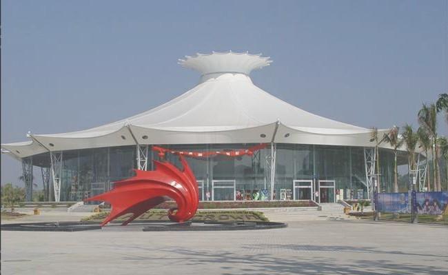 北京张拉膜设计上海膜结构看台天津膜结构体育场重庆