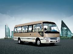 供应天津金龙客车经销商15至23人座,天津销售金龙仿考斯特车型批发