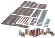 电池收缩膜PET及PVC热缩管图片