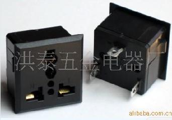 电源插座、老化架插座、HONG TAI插座