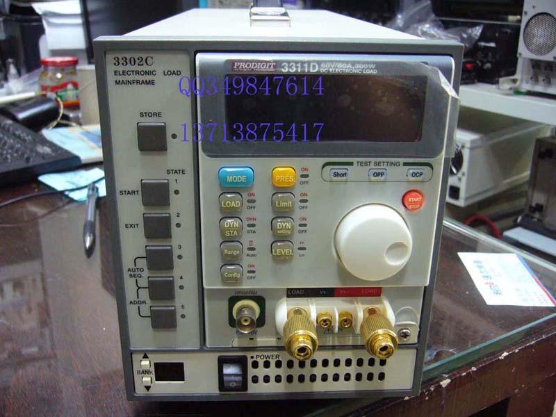 供应电子负载 3302C+3311D 电源测试仪图片