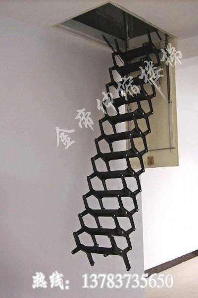 河南新乡阁楼楼梯效果图生产供应商 供应金帝阁楼楼梯,阁楼楼梯效果