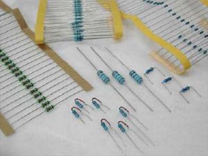 供应编带金属膜电阻器批发