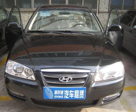 珠海租车北京现代伊兰特报价