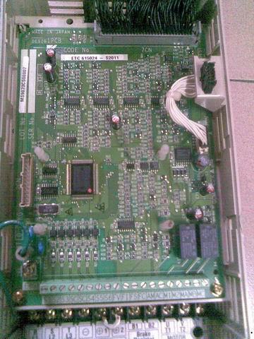 供应安川p5变频器主板控制板
