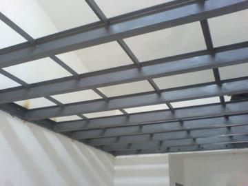 纤维水泥压力板loft钢结构阁楼