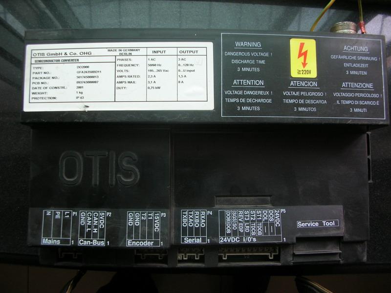 供应奥的斯电梯门机控制盒DO2000GFA24350BD11