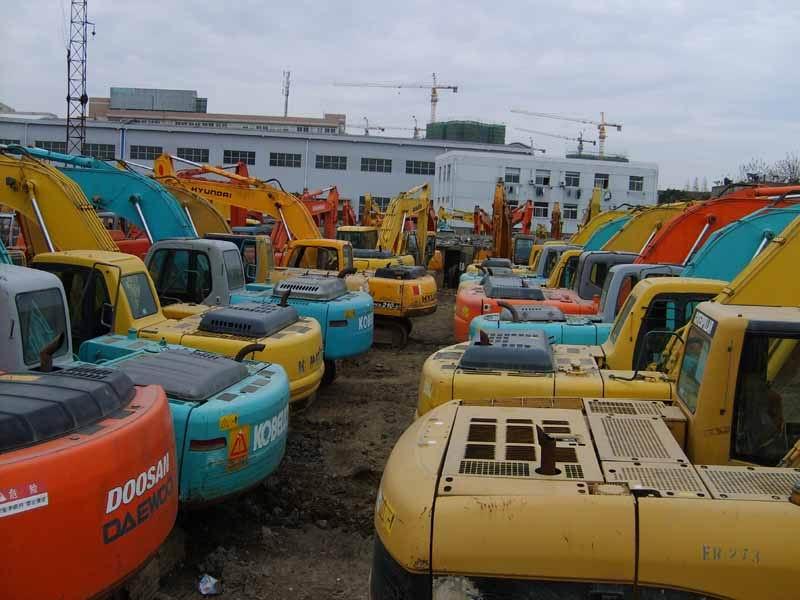 供应二手大宇挖掘机,云南二手挖掘机市场,四川二手汽车吊价格行情批发