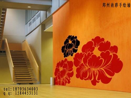 郑州手绘墙墙体彩绘装饰画图片