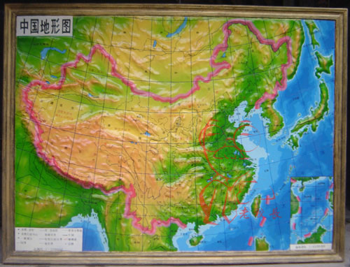 供应中国地图