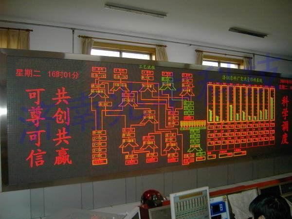 供应工业生产电子看板 工业生产线电子看板批发