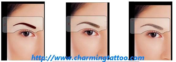 纹绣_纹绣供货商_供应万能眉形设计模具眉毛练习模板