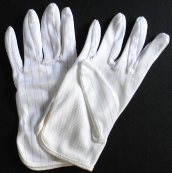 供应防静电点塑手套厂家  点塑手套价格 防滑点塑手套 点塑手套批发图片