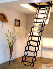 供应电动遥控伸缩楼梯 阁楼楼梯 阁楼伸缩楼梯