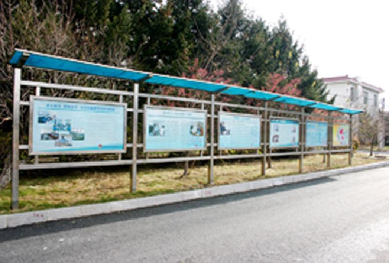 北京广告信息栏电梯告示栏不锈钢宣传栏生产供应商