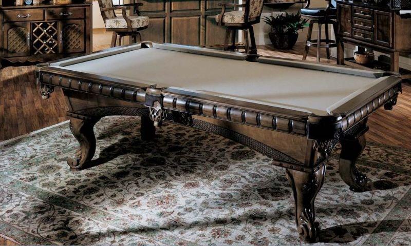 供应雕刻台球桌,高档台球桌,台球桌厂家直销