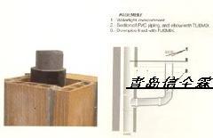 供应最新款pvc家用管道及工业排风管道隔音 供应商 批发