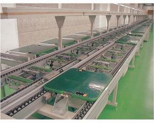 供应差速链流水线倍速链流水线组装生产线装配流水线环行拉线图片