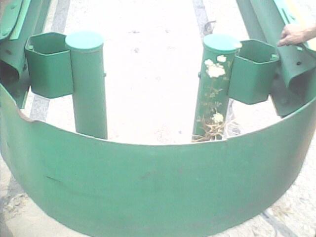 波形护栏组合型圆端头