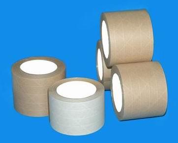 供应夹筋牛皮纸胶带
