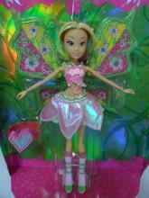 供应时尚礼品发光芭比娃娃