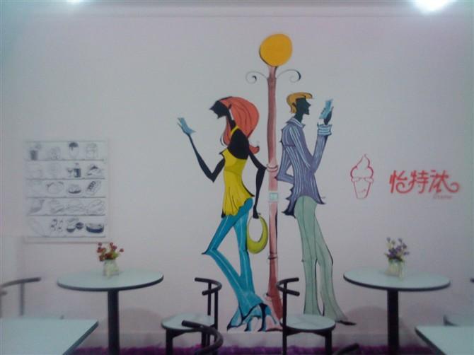 阜新素彩墙体手绘