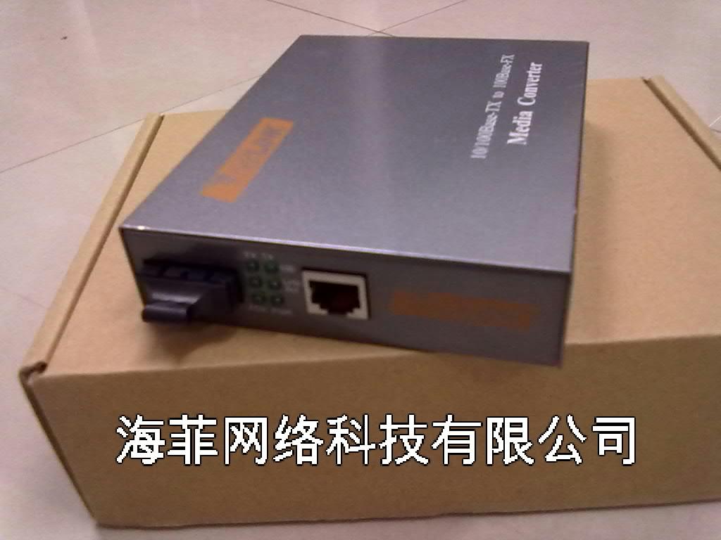 光纤收发器图片 光纤收发器样板图 以太网中连接 光纤收发...