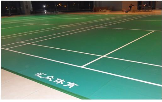 供应羽毛球场地,羽毛球场地尺寸图,汇众供应羽毛球场地地板 图 -羽