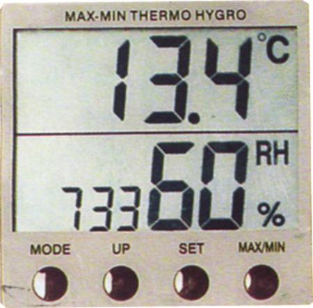 供应电子温湿度表图片