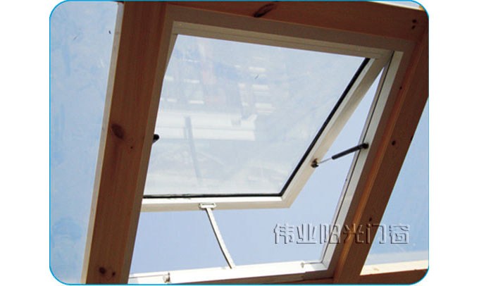 江苏无锡智能电动阳光房天窗 遥控窗图片
