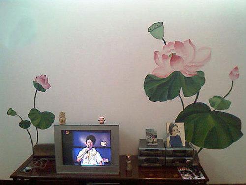 马鞍山手绘画 合肥幼儿园手绘画 六安壁画 合肥墙体手绘 合肥向日葵