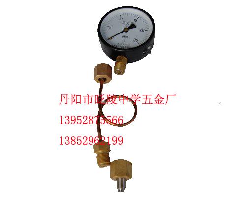 供應氣體匯流排附件集氣包附件全套表桿閥門螺母及底座氣包快速接頭圖片