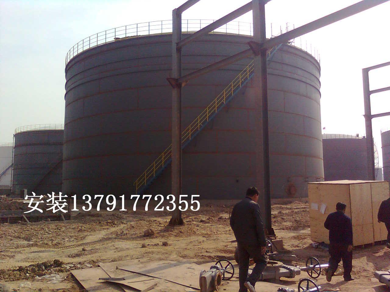 山东济宁油罐网架钢结构安装公司生产供应立式罐