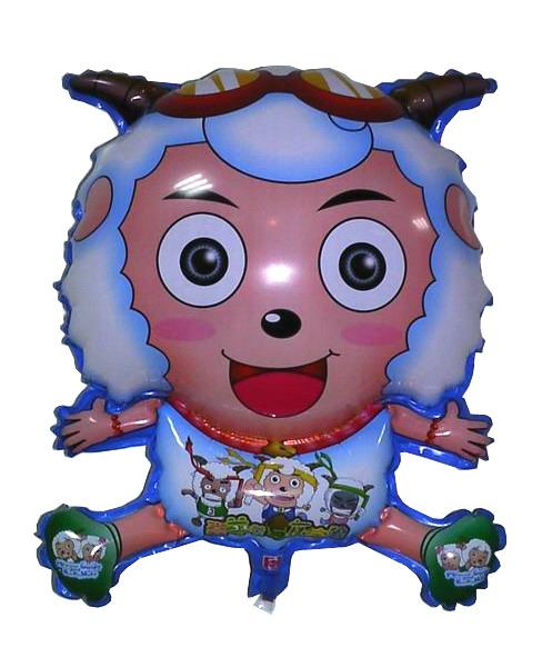 氢气球批发,充气棒,卡通玩具,海宝氢气球,喜洋洋充气玩具,海绵宝宝