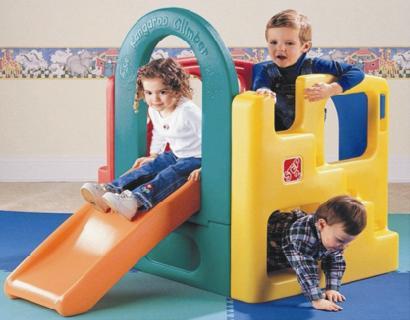 供应袋鼠滑梯 袋鼠滑梯咪咪滑梯童装店儿童乐园