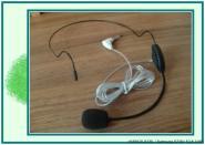 头戴式耳挂式麦克风图片