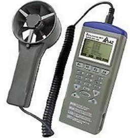 衡欣 AZ9671多功能高精度风速仪 温湿度记录仪器 风速风量测试仪 AZ9671台湾衡欣智能型风速计批发