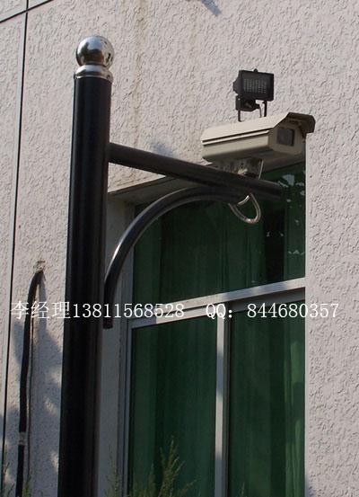 供应摄像机立杆支架灯杆抱箍支架OEM服务质量保证批发