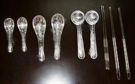 银质餐具银质碗纯银筷子图片