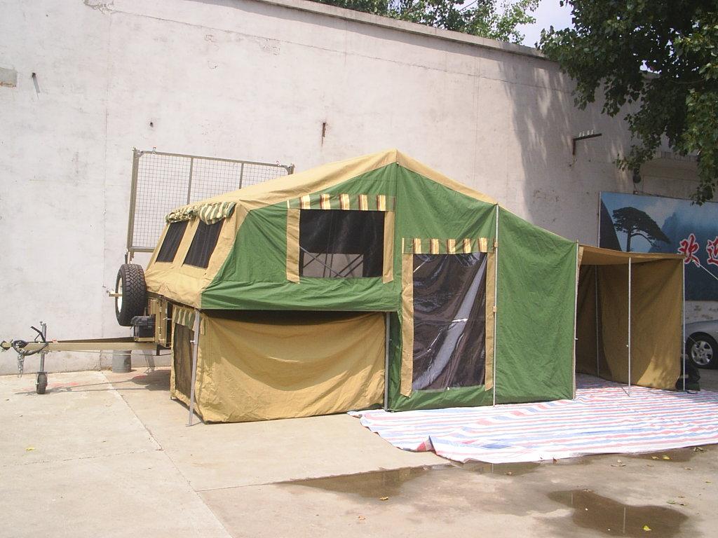 自制简易帐篷图解