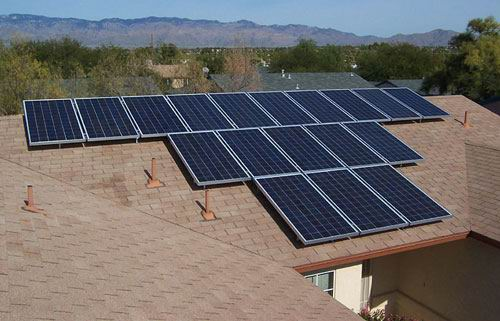 太阳能电池安装结构价格