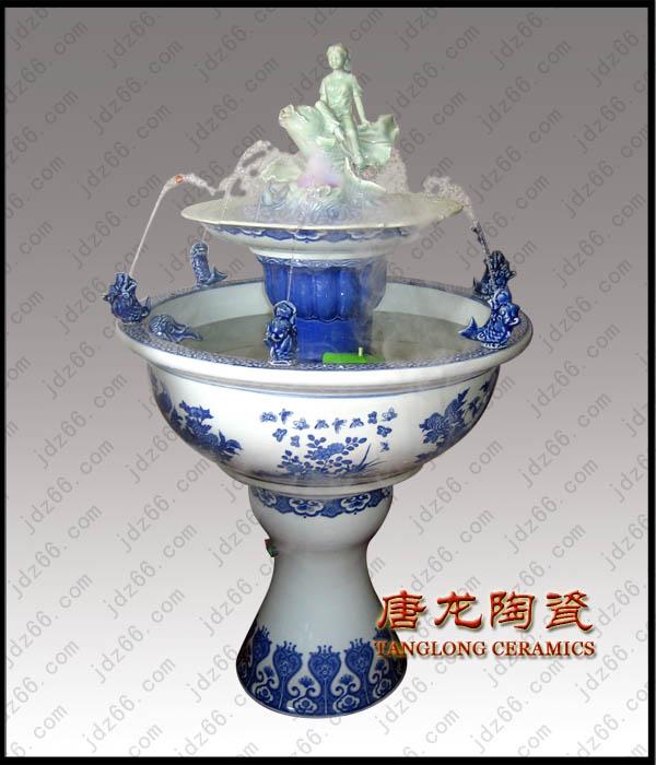 供应景德镇陶瓷喷泉