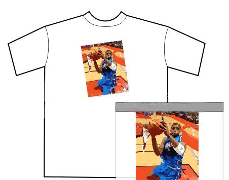 供应广告衫文化衫个性T恤工作服运动服休闲服电脑数码印花加工图片