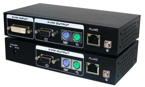 供应电脑主机延伸器KVM延长器VGA转换器VGA双绞线音视频延长批发