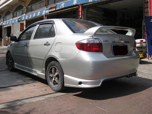 丰田威驰02 07年款大包围图片高清图片