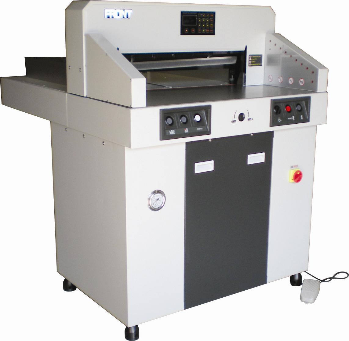 裁纸机图片 裁纸机样板图 液压数控裁纸机 瀛和电子设备有...