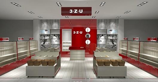各種商業店面裝修設計樣品間設計圖片